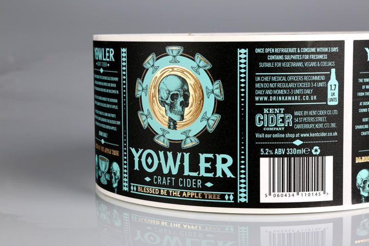 Bottle labels by the UK's Online Label Printing Company